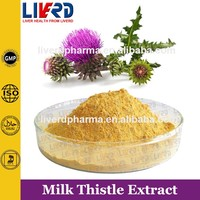 Food Grad Milk Thistle Extract 80% Silymarin