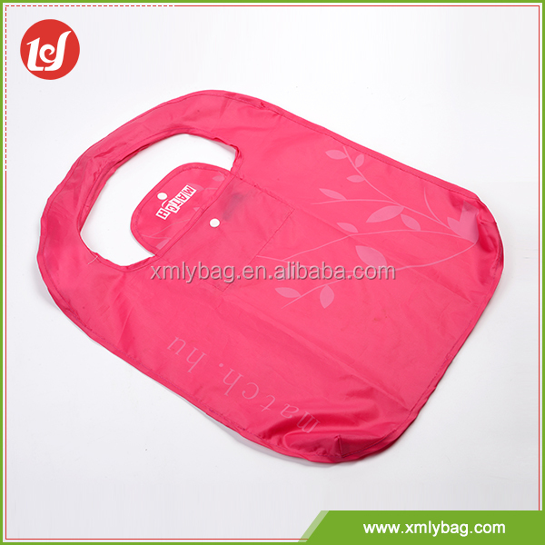 Eco-friendly custom recycle foldable tote shopping bags