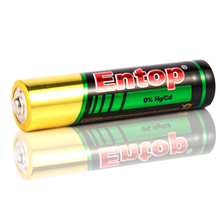17 Years OEM and ODM Manufacturer Entop Brand Super Power Capacity aaa size golden power alkaline battery