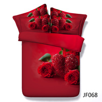 Love theme Red Rose and Heart Beautiful Hd digital modern bedroom sets