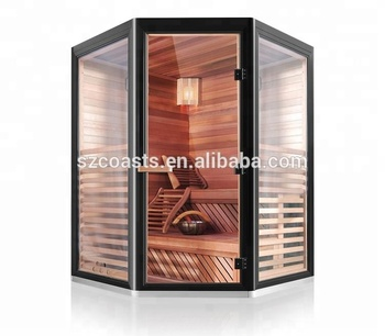 4 Person Traditional Stone Steam Sauna Room