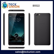 B5522 Hot Sale 5.5Inch Touch Screen Mobile Phone Unlocked Quad Core Mtk6580 3G Cellular Phone Android