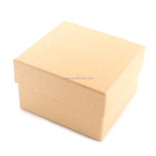 China supplier customized logo on the watch case create own brand wood pulp paper gift package box
