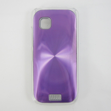 CD grain aluminum hard phone case, protective mobile case for Nokia C5-03
