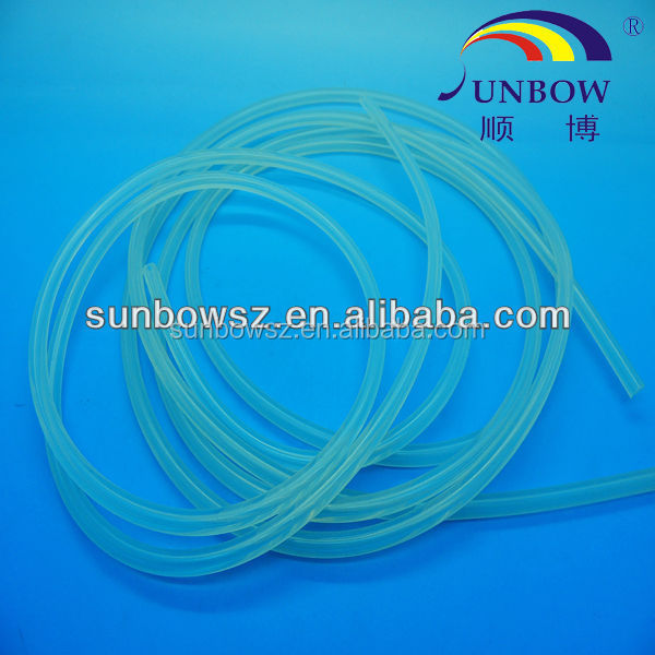 FDA ROHS Soft and Thin Wall Silicone Rubber Tubing Supplier of Philips Sanyo