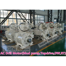 800kw mud pump drawworks rotary table AC drilling motor
