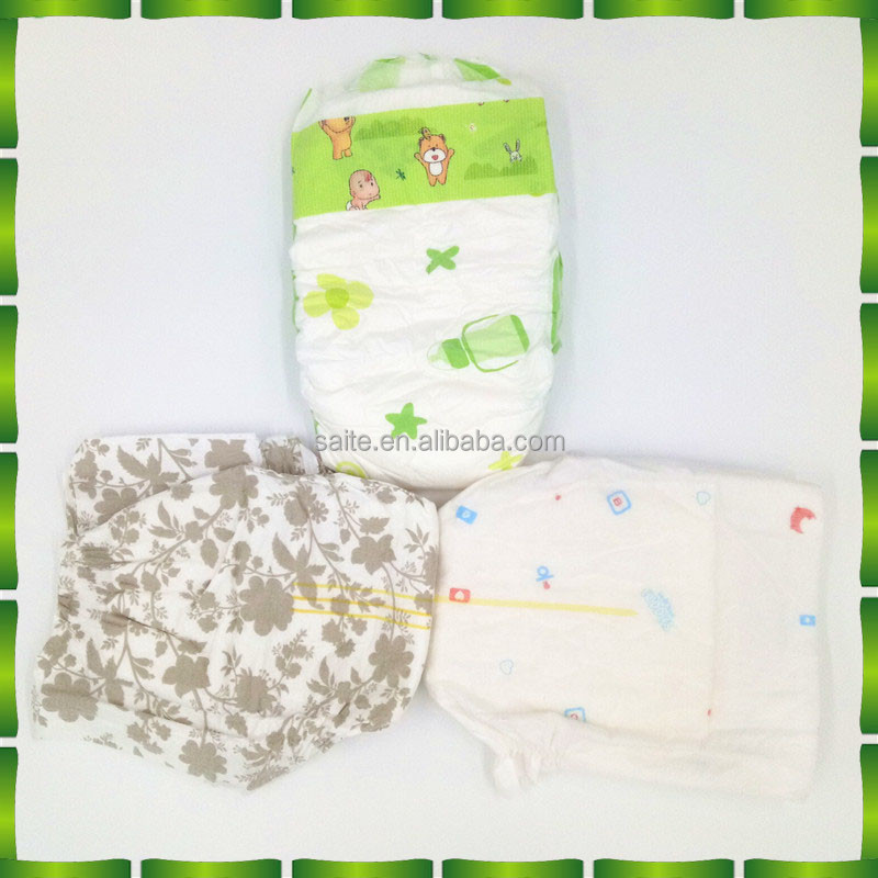 Pure natural healthy materials baby print adult diaper manufacturer