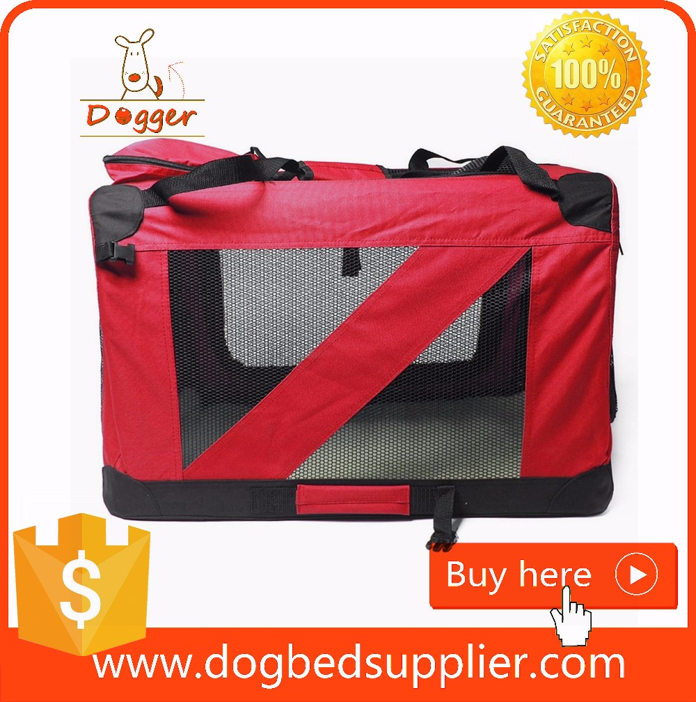 Dog Crate with Wheels/Soft Pet Travel Bag