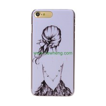 New products spot drill diamond PC cartoon Pattern cell phone case for iPhone 6 plus