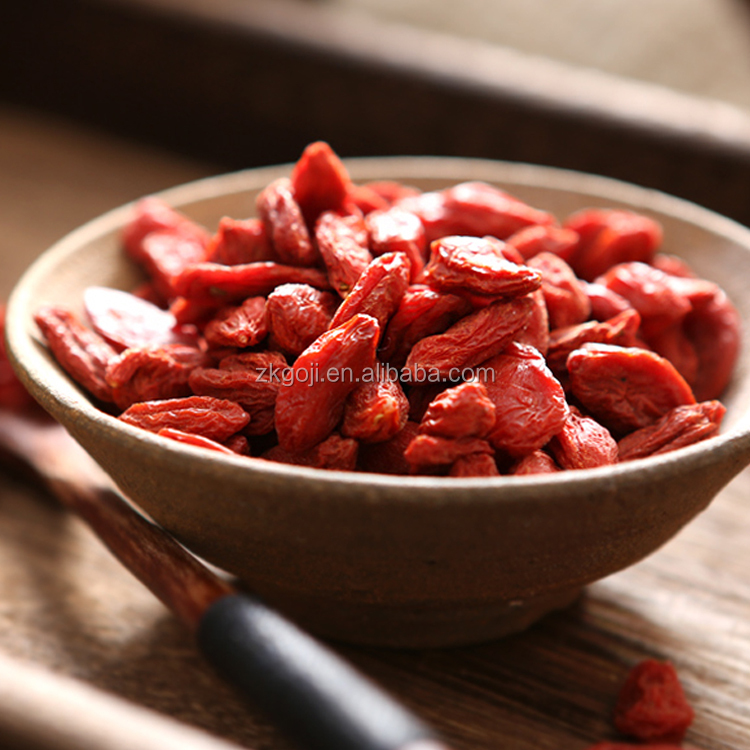 latest goji price of a 220 grains dried Qinghai goji berry