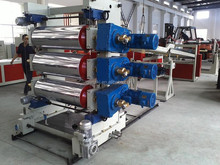 PVC/PP/PE/ABS sheet plastic board extruder