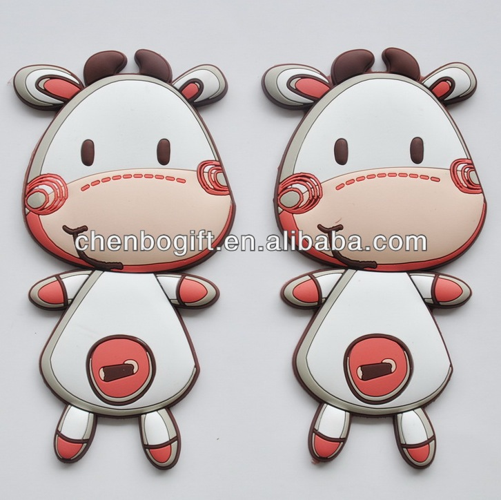 Best seller cartoon 3d pvc magnets / soft pvc fridge magnet / rubber 3d pvc fridge magnet