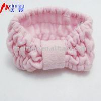 knit headband with flower