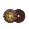 Flexible diamond Wet granite polishing abrasive pad