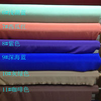 Silk Fabric 30mm 114cm Heavy Crepe Silk Fabric Solid Dyed for Wholesale