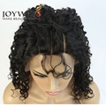 Joywigs Three Part Super Curly Human Hair Lace Front Wig Instock