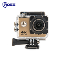 2017 top sell 30m waterproof 4k mini action camera for swimming