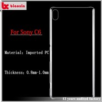 Unique design PC with TPU perfect combinationfor sony xperia c5 phone case cover