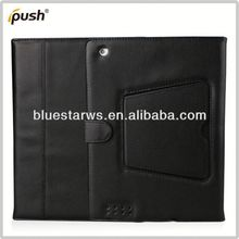 2014 factory directly stylish Bluetooth Keyboard Leather Case For Ipad 2 3 4 pu leather for ipad case
