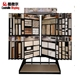 Sample Board Mosaic Wing Display Racks Stone Display Stands