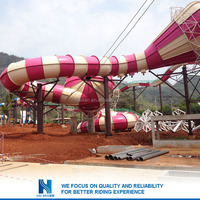 Hot sell China factory supply water slip and slides for sale