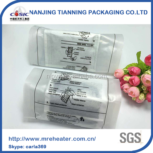 wholesale china factory sell self heating meal heater camping equipment meal ready to eat heater