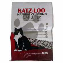 pet 10kg feed bag cat pp woven dog food bag 25kg animal feed plastic bag