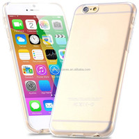 0.3mm Super Slim Crystal Clear Soft TPU Gel Case For Apple iPhone 6 4.7 inch/6 Plus 5.5