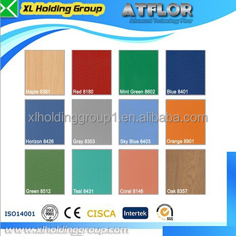Indoor pvc basketball flooring for sports use