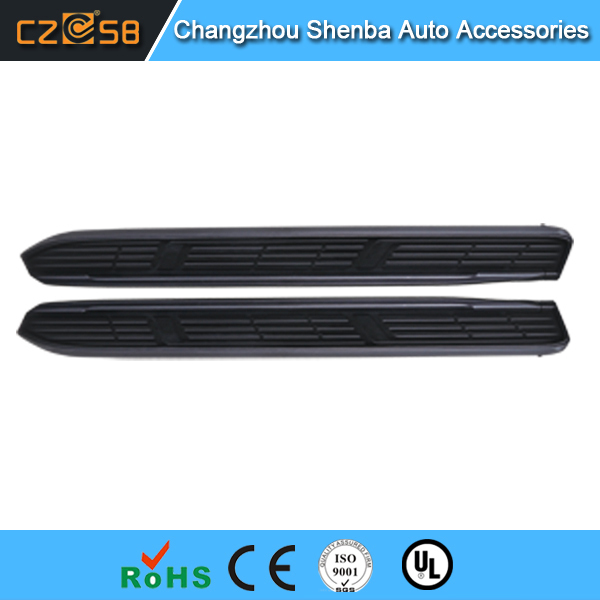 Car accessories running boards apply to Toyota Prado