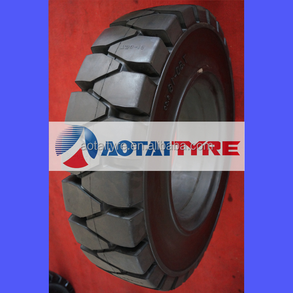 high quality resilient polyurethane bobcat linde forklift 7.00-15 7.50-15 solid tyre wheels