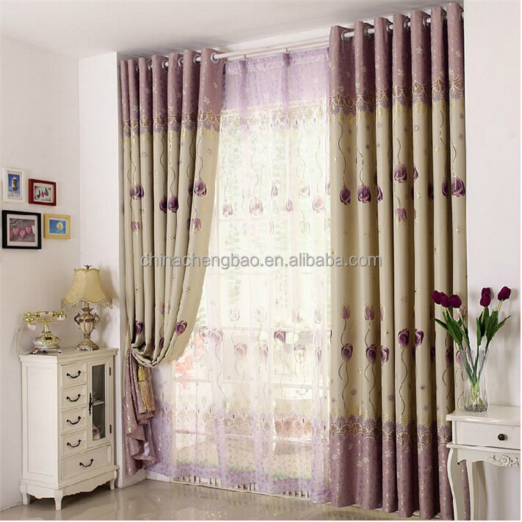 classic luxurious home thermal blackout curtains non-toxic