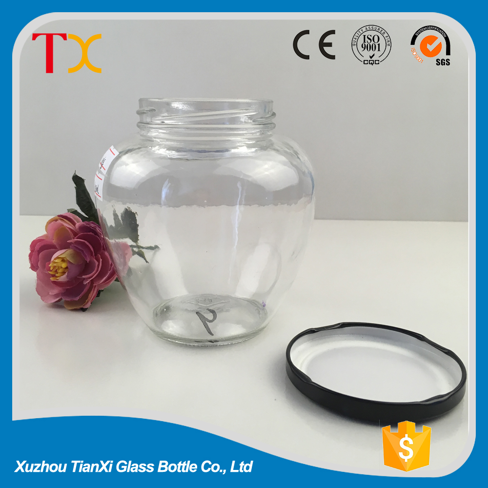 400ml crystal air-tight storage canning jars