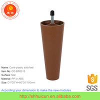 ISO9001 Certificate Grown Plastic Desk Leg Extensions