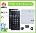 Factory outlet 200L Solar Freezer, Chest door, DC 12V, Icebox