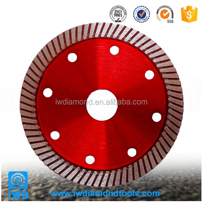 "Hot selling 125mm diamond turbo circular blade 5"" diamond cutting disc for granite"