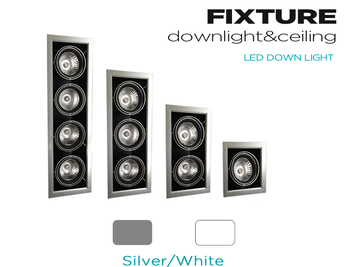 ETL Listed Residential New Construction Multiple Recessed 4-Head Light