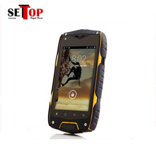Cheap Factory 4inch industrial 3g waterproof ip67 rugged phone with skype