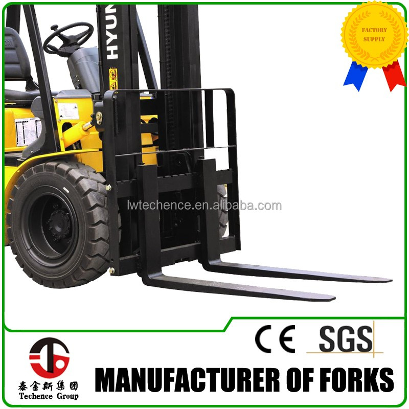 Forklift parts attachment hook type forks