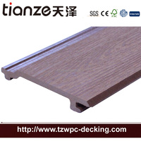Outdoor WPC wood plastic composite decking flooring WPC wall panel