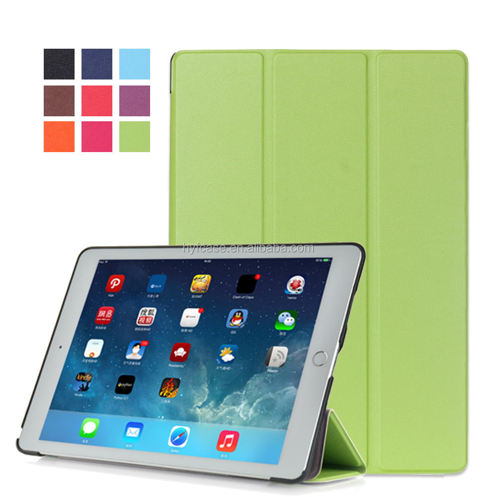 Book hot press Style Leather Protector Tablet Case Cover For iPad pro 12.9
