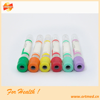 vacuum blood collection tube,tube colors of blood tests, blood collection tube color