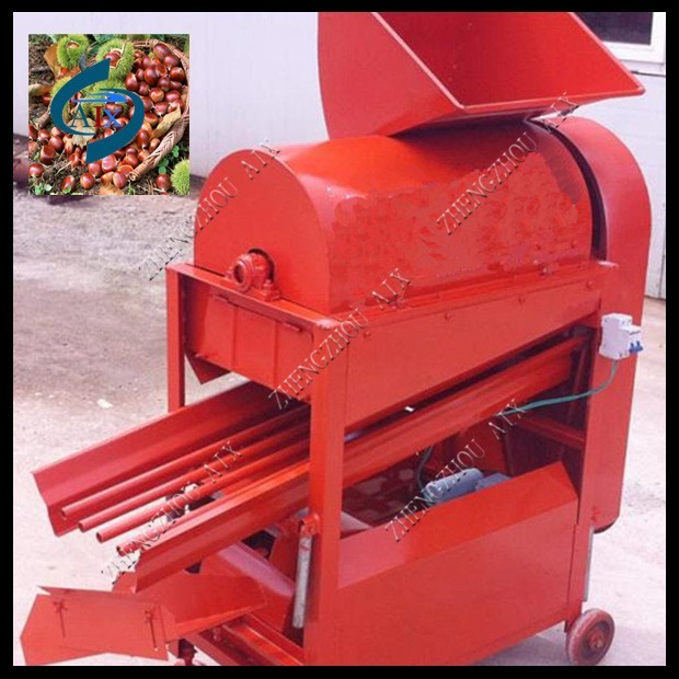 Popular use chestnut thorn shell peeler machine