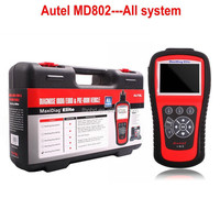 Original Autel Maxidiag Elite MD802 MD 802 All system + DS Model Full System DS+EPB+OLS+Data Stream