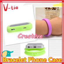 creative small bracelet style colorful carbon fiber cell phone case on sale