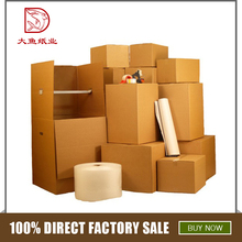 Professional customized size cheap manufacturer corrugated carton box sample