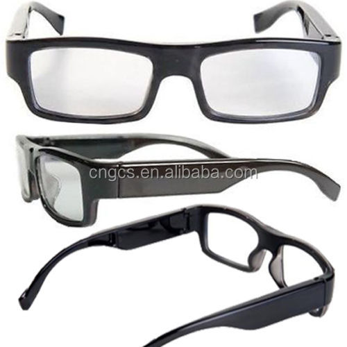 32GB HIDDEN CAMERA DVR SLIM GLASSES 720P VIDEO RECORDER & AUDIO MICROPHONE