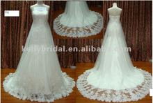 Hot sale tulle crystal wedding factory dresses