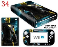 Factory Wholesale Skin Sticker Decal for Nintendo Wii U Controller Cover OEM Welcome