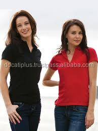 Custom design Ladies Polo Shirt